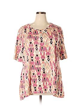 D&Co. Short Sleeve T-Shirt Size 2X (Plus)