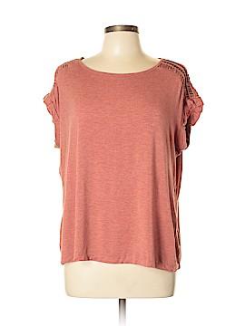 Rose & Olive Short Sleeve Top Size L