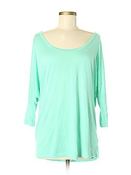 American Apparel 3/4 Sleeve T-Shirt Size Med - Lg