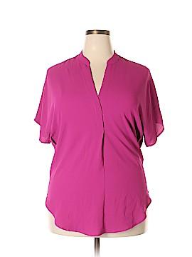 Anne Klein Short Sleeve Blouse Size 4