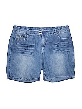 Faded Glory Denim Shorts Size 20W (Plus)
