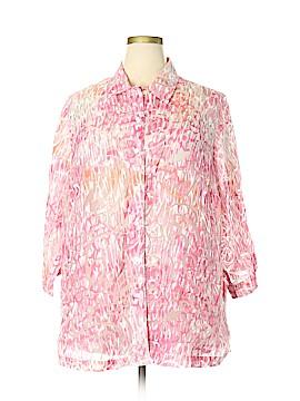 Allison Daley 3/4 Sleeve Blouse Size 24 (Plus)