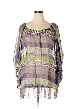 Jamie Nicole Collection 3/4 Sleeve Blouse Size 3X (Plus)