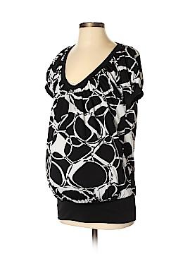Olian Short Sleeve Blouse Size S (Maternity)