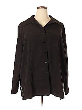 Denim Co Jacket Size 3X (Plus)