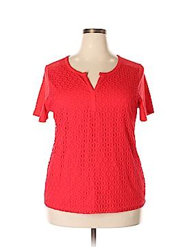 Rafaella Short Sleeve Blouse Size XXL