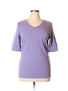 Active Basic 3/4 Sleeve T-Shirt Size 2X (Plus)