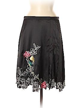 Vertigo Paris Silk Skirt Size 8