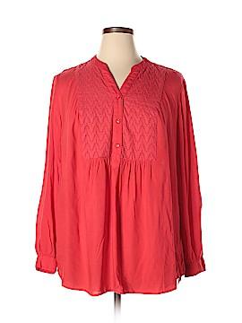 St. John Long Sleeve Blouse Size 2X (Plus)