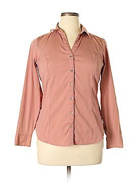 Express Long Sleeve Button-Down Shirt Size L