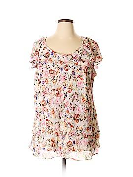 CC Short Sleeve Blouse Size 2X (Plus)