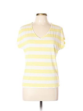 Aqua Short Sleeve Top Size L