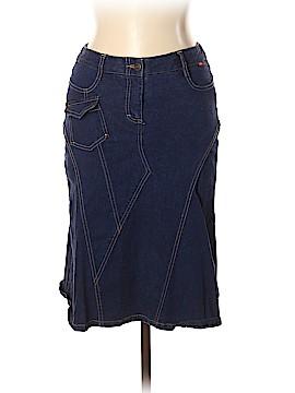BCBGMAXAZRIA Denim Skirt Size 6