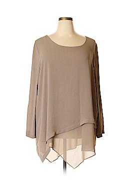 Soft Surroundings Long Sleeve Blouse Size 2X (Plus)