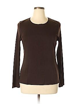 Charter Club Long Sleeve T-Shirt Size L
