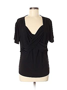 Jessica London Short Sleeve Top Size M