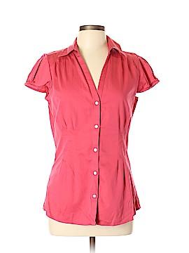 Banana Republic Short Sleeve Button-Down Shirt Size 12 (Tall)