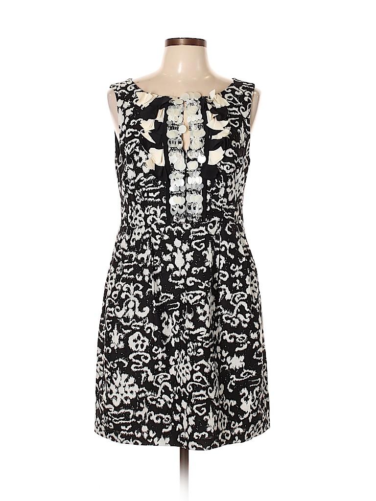 12173dfe63e0 Nanette Lepore Floral Black Casual Dress Size 10 - 87% off | thredUP