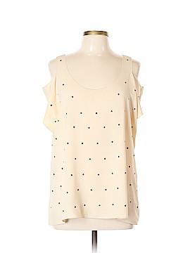 RACHEL Rachel Roy Short Sleeve Blouse Size XL