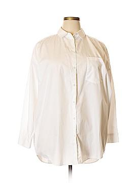 ASOS Long Sleeve Button-Down Shirt Size 18 (Plus)
