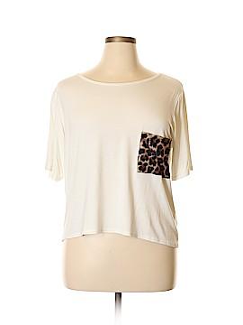 Boohoo Boutique Short Sleeve T-Shirt Size 18 (Plus)