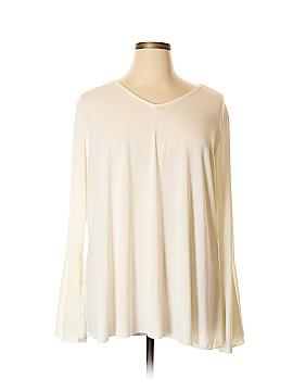 IMAN Long Sleeve Top Size 3X (Plus)