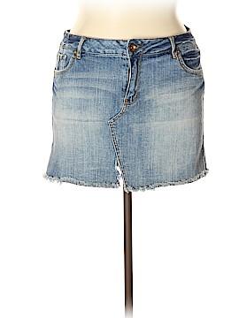 Ruff Hewn Denim Skirt Size 14