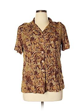 Fashion Bug Short Sleeve Blouse Size 14 - 16 W