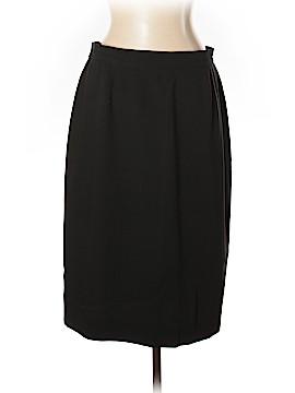 Louis Feraud Wool Skirt Size 14
