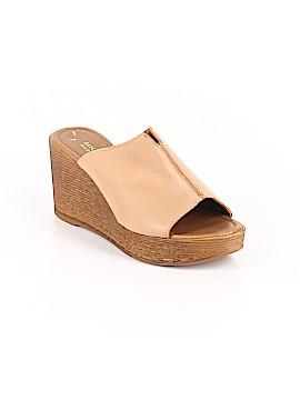 Mila Paoli Wedges Size 6