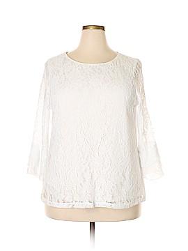 Elle Long Sleeve Blouse Size XXL