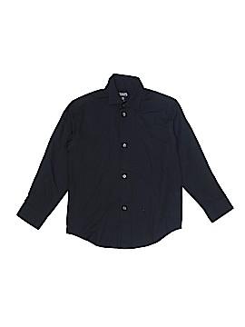 Chaps Long Sleeve Button-Down Shirt Size 6 - 7
