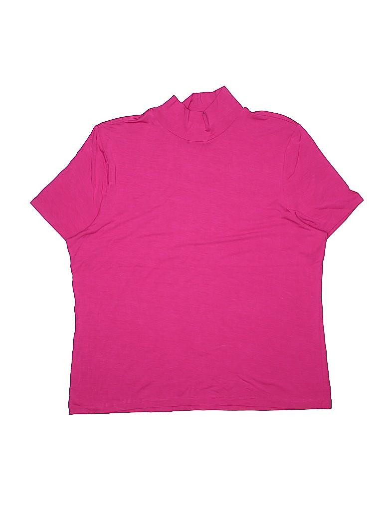 Emma James Women Short Sleeve T-Shirt Size XL