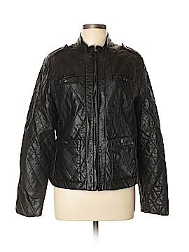 Joe Fresh Faux Leather Jacket Size XL