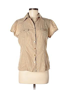 MICHAEL Michael Kors Short Sleeve Button-Down Shirt Size M