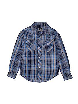 Roper Long Sleeve Button-Down Shirt Size 8 - 10
