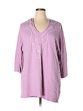 Soft Surroundings 3/4 Sleeve T-Shirt Size XL