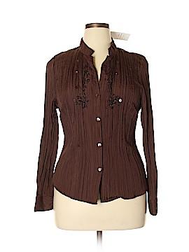 Antilia Femme Long Sleeve Blouse Size 1X (Plus)