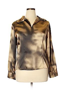 Harve Benard Long Sleeve Blouse Size 16