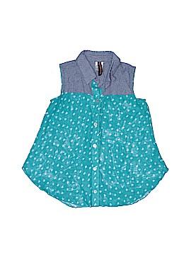 Lily Bleu Sleeveless Blouse Size 7 - 8