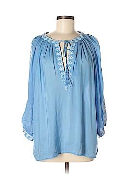 Melissa Odabash 3/4 Sleeve Blouse One Size