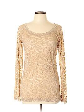 Moda International Long Sleeve Top Size L