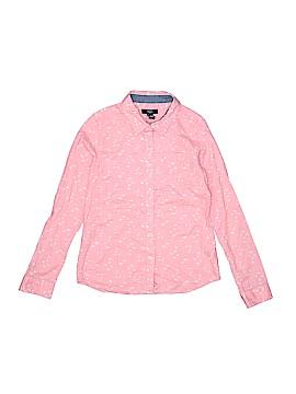 Gap Kids Outlet Long Sleeve Button-Down Shirt Size 10 - 11