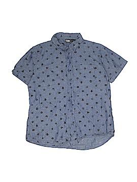 Star Wars Short Sleeve Button-Down Shirt Size X-Large (Kids)