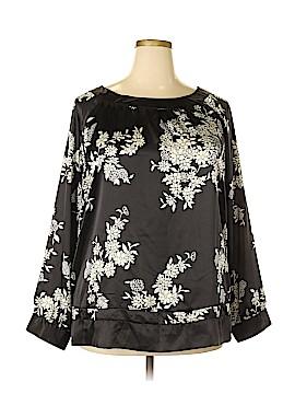 Antilia Femme Long Sleeve Blouse Size 2X (Plus)