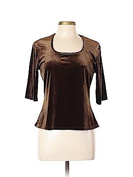 Kathie Lee 3/4 Sleeve Top Size L