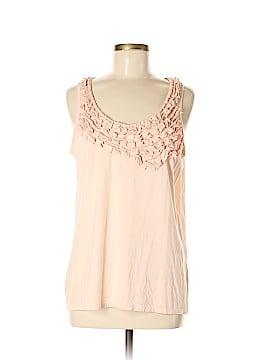 Garnet Hill Sleeveless Top Size M