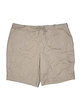 Faded Glory Khaki Shorts Size 22W (Plus)