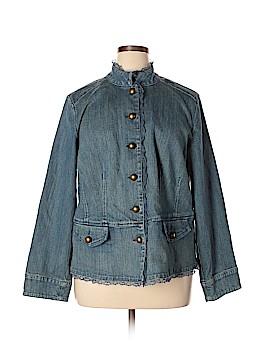 Style&Co Denim Jacket Size 18 (Plus)