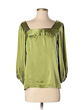 Nanette Lepore 3/4 Sleeve Silk Top Size 6